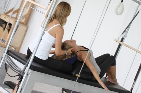 pilates services offered at Healthwinds Spa in Toronto